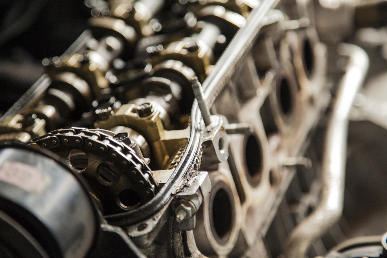 Części niezbędne w maszynach przemysłowych